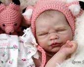 Custom Reborn Babies - Grace Asleep by Lorraine Yophi 18 inches 4-6 lbs Full Limbs .