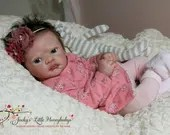 Custom Reborn Babies - Aoife by Phil Donnelly 21 inches  3/4 Arms, Full Legs