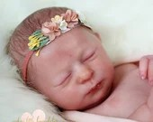Custom Reborn Babies - Realborn® Aria Sleeping 17 inches Full limbs  4-6 lbs