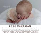 "Brand New CuStOm ReBoRn Pip by Cassie Brace (17""+Full Limbs)"