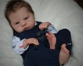 """CUSTOM ORDER/Made To Order Reborn Doll Baby Girl or boy  Corvin by Sabine Altenkirch 21"""" Full limbs. 6-9lbs (Reborn Babies)"""