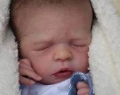 SPECIAL OFFER! Buy One Get One 25% Off! Custom Reborn Babies - Noel by Olga Auer 19 inches full limbs 5-8 lbs  baby