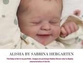 "CuStOm ReBoRn Alisha by Sabrina Hergarten (21""+Full Limbs)"