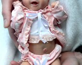 Custom Reborn Babies - Salia by Olga Auer. Micro-Preemie 12.5 inches long. Full Limbs 2-4 lbs