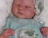 Custom Reborn Babies - Aria By Toby Morgan 18 inches Full limbs  5-7 lbs