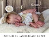 "FREE Bonus Baby!  **Read Item Details** CuStOm ReBoRn BaBy Nevaeh By Cassie Brace (18""+Full Limbs)"