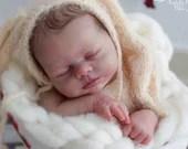 Reborn Babies - Custom Reborn Baby - Isabella By Nikki Johnston 17 inches full limbs 5-7 lbs Custom Reborn Baby Doll. Vinyl.
