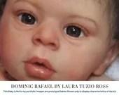 CuStOm Dominic Rafael By Laura Tuzio Ross (22 Inches + Full Limbs)
