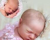 CUSTOM ORDER Reborn Doll Baby Girl or boy Realborn® Jaycee Sleeping 18 inches Full limbs  4-6 lbs You Choose All Details Layaway Available!