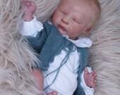 "Custom    Realborn®  Joseph Asleep Full Limbs 18"" 4-6 lbs"