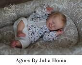 "CuStOm ReBoRn Agnes by Julia Homa (18""+Full Limbs)"