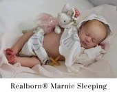 CuStOm Realborn® Marnie Asleep (19 Inches + Full Limbs) *Requires Longer Processing Time.