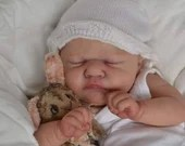 FREE Baby w/ Diamond Package - Custom Reborn Babies - Romilly By Cassie Brace - 19 inches Full limbs 5-7 lbs. Vinyl.