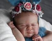 Order Today For FREE Bonus Preemie! Custom Reborn Babies - Azalea by Laura Lee Eagles 19 inches Full Limbs Cloth Body. **
