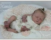 Custom Reborn Babies - Xander by Cassie Brace LE 500 18 inches  Full Limbs