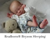 CuStOm Realborn® Bryson Sleeping (18 Inches + Full Limbs) *Requires Longer Processing Time.