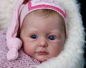 Custom Reborn Babies - Sophie By Ann Timmerman 22 inches Full Limbs 6-8 pounds .