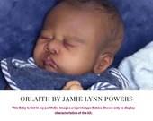 """CuStOm ReBoRn Orlaith by Jamie Lynn Powers (19""""+Full Limbs)"""