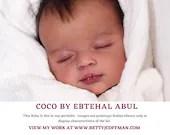 "LiMiTeD eDiTiOn  CuStOm ReBoRn Coco by Ebtehal Abul (20""+Full Limbs)"
