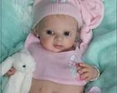 CUSTOM MADE Reborn Doll Baby Girl or boy Emmi by Regina Labuc-Hoga  19 inches  4-6 lbs  Full arms & legs . (Reborn Babies)