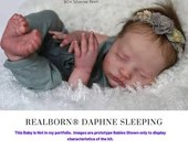 "CuStOm ReBoRn Realborn® Daphne Sleeping (19""+Full Limbs)"