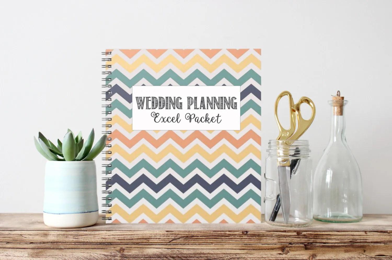 Instant Download Wedding Planning Excel Packet Budget