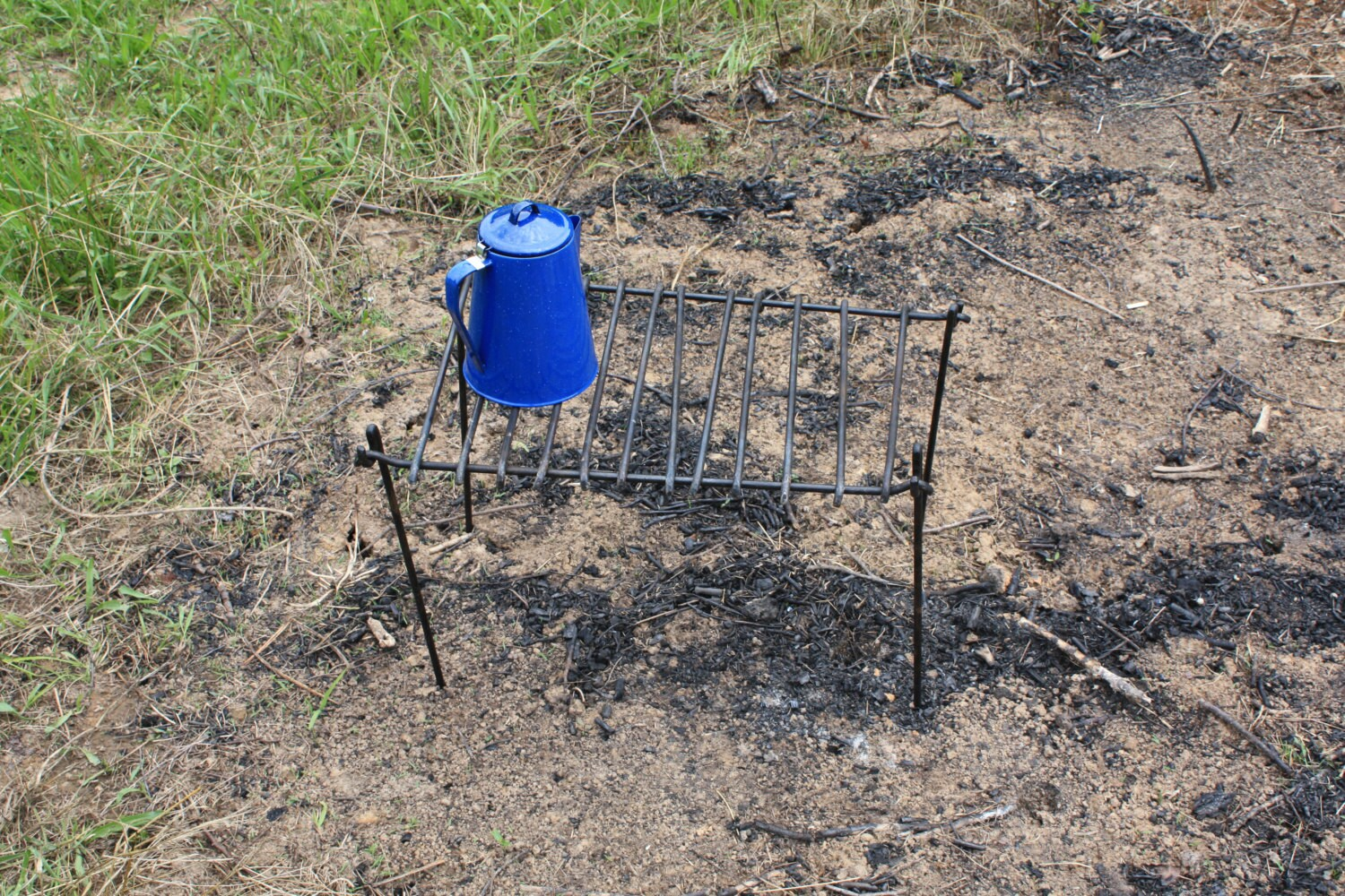 Blacksmith Forged Campfire Cooking Grate For Camping Or Etsy