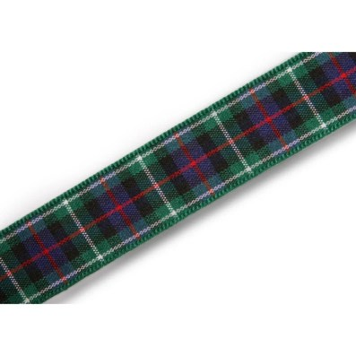 Ruban tartan écossais Rose