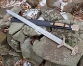 Fingrbitr - pattern-welded Type Z Viking Sword