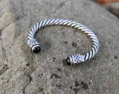 Celtic Braid Silver Bracelet