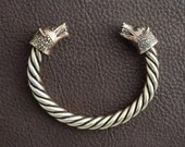 Bronze Fenrir Wolf Bracelet