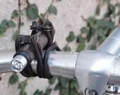 Mini Bike Light (Matte Leather)