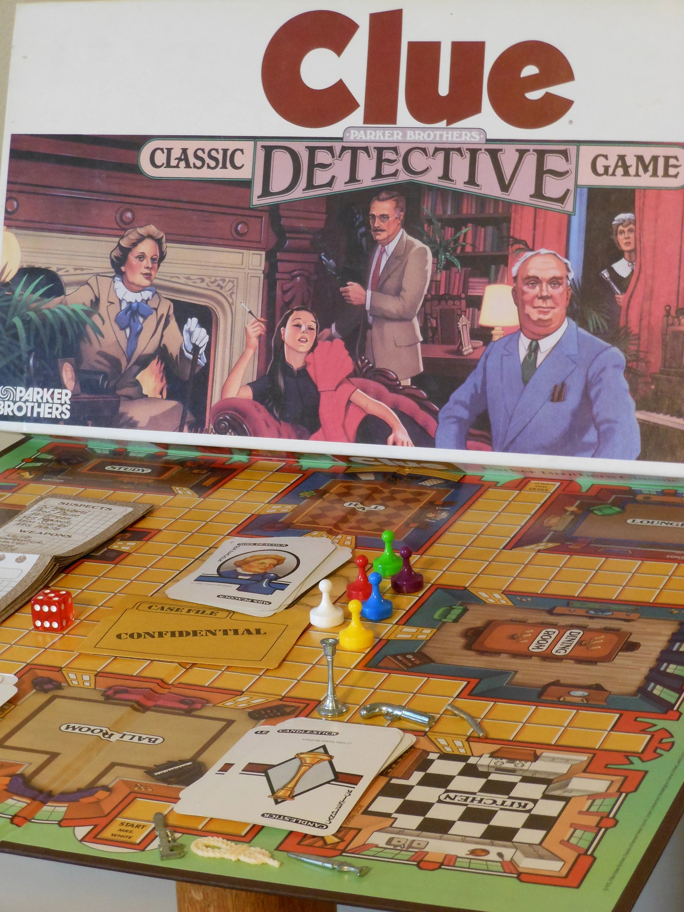 Clue The Classic Detective Game
