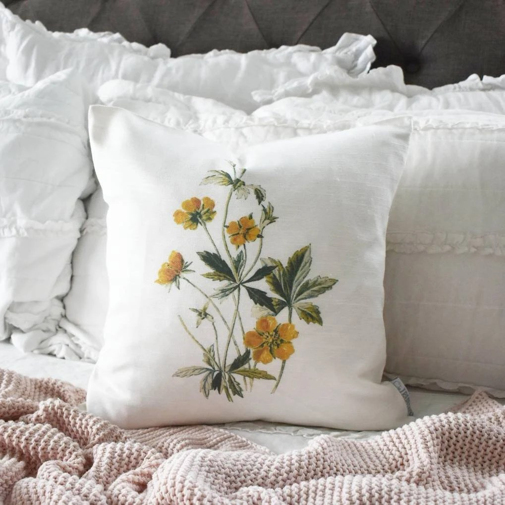 spring pillow cover etsy