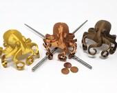 3D Printed Octopus bun cover