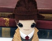 """Detective Inspector John """"Jack"""" Robinson  - Miss Fisher's Murder Mysteries plushie  (made to order)"""