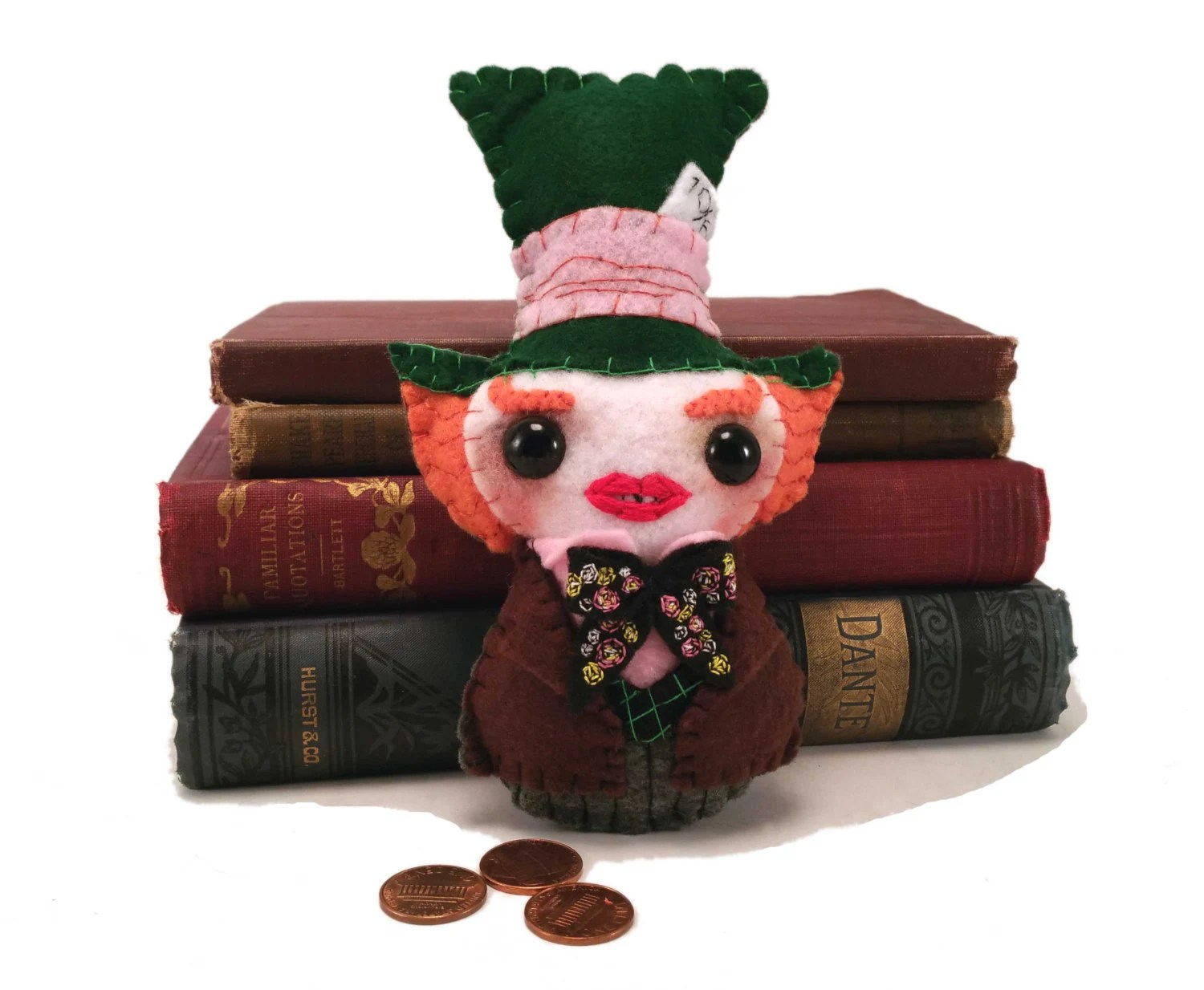 Mad Hatter plushie (made ...