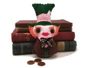 Mad Hatter plushie (made to order)