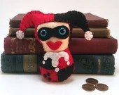 Harley Quinn plushie (made to order)