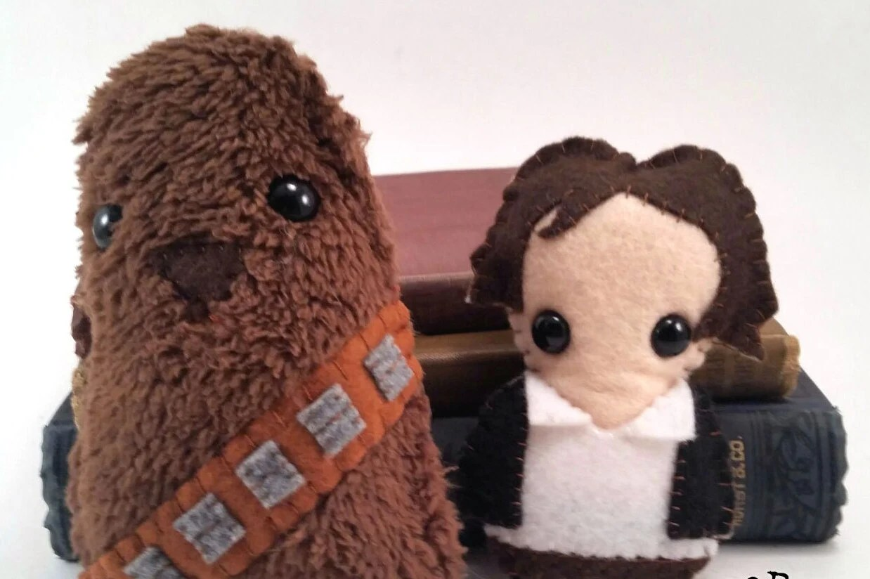 Han Solo and Chewbacca pl...
