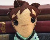 Waldo Butters - Dresden Files plushie (made to order)