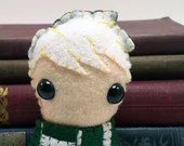 """Bad Boy """"D"""" - Wizard School plushie (made to order)"""