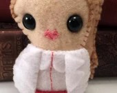Molly Hooper - Sherlock plushie (made to order)