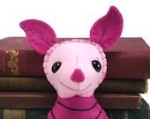 Piglet plushie (made to order)