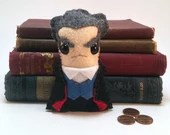 12th Doctor - Peter Capaldi - Dr Who plushie (made to order)