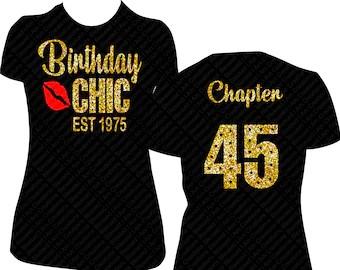 Birthday Shirts For Women Etsy