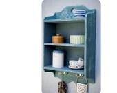 chalkpaint wood shelves, ...