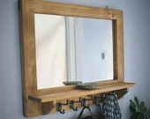 Large mirror with shelf &...