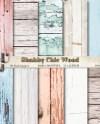 Pastel Shabby Chic Wood Digital Paper Pastel Wood Background Etsy