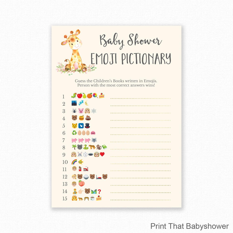 Guess Emoji Worksheet